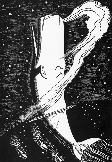 A Rockwell Kent Illustration for Moby Dick