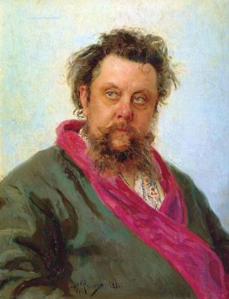 Repin-portrait-of-the-composer-modest-mussorgsky-1881