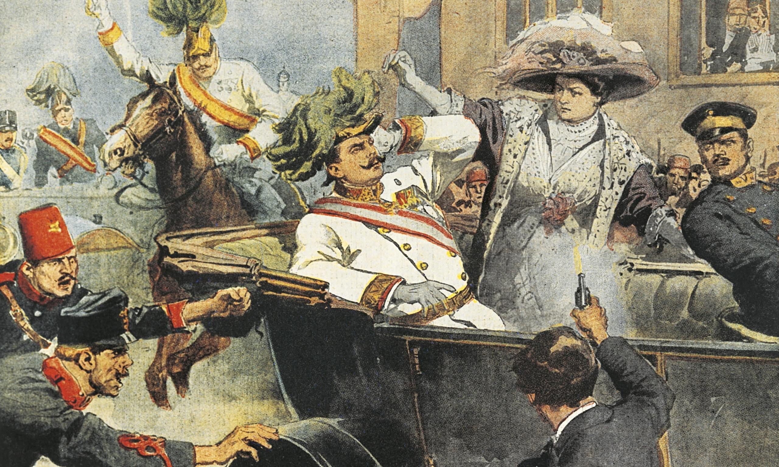 the assassination of franz ferdinand essay World war i: assassination of archduke franz ferdinandoverview of the start of  world war i, including details of the june 28, 1914,.